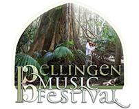 Bellingen Music FESTIVAL ~ identity & promotion media