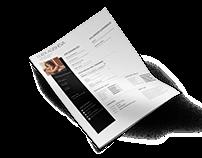 Free PSD CV/Resume