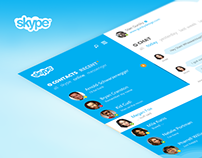 Skype Re-redesign
