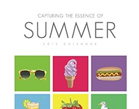 Capturing the Essence of Summer, 2015 Calendar
