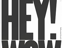 'Hey Wow' print by Daniel Freytag