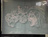 Halloween Mural 2018