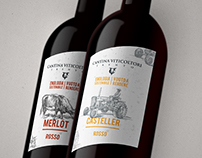 Cantina Viticoltori - Wine Packaging