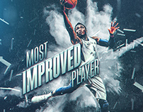 NBA Art | Victor Oladipo #4 | Most Improved Player 2018