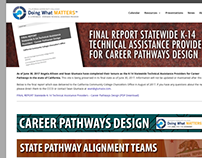 K-14 CA Statewide Career Pathways TAPs - Web Design