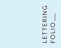 Lettering Folio