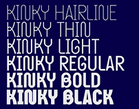 Kinky Typeface (updated)