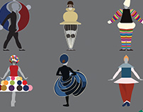 Bauhaus Dance Costumes