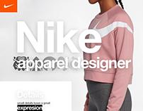 Nike Apparel Designer