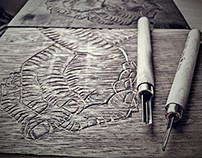 Little expressions book - woodcut (20 prints)