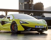 McLaren 570s renders