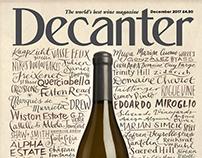 Decanter Magazine Cover - Dec 17