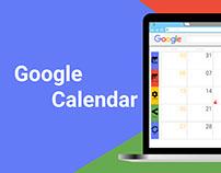 Google Calendar - Redesign