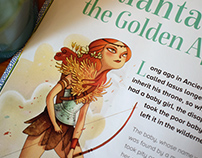 Storytime Magazine no. 14 Atlanta and the golden apples