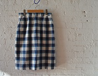 TL 111 Ladies Tailoring 1 - Lined Skirt w Pockets