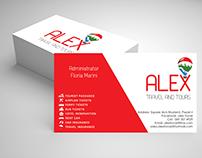 Alex, logo, Adeziv, Business-Card