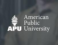 American Public University (APU) Redesign
