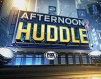 Fox Sports Afternoon Huddle / Cake Studios