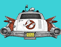 Ecto-1 Illustration