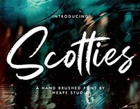 Scotties – Hand Brushed Font