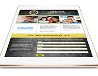 Responsive Landing Page and Trade Show Banners