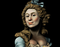 3D Sculpt - Marie Gabrielle Capet