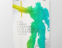 FATE (Optimus Prime) poster design.