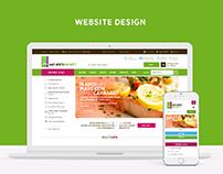 Website Design - Godrej Nature's Basket (Pitch)