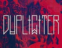 DUPLICITER /hipster font/
