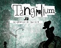 """Libro """"Tangiblium..."""" ilustración, Tecnica mixta."""