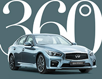 The Infiniti Q50 Virtual Showroom on Instagram