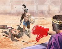 Roman Gladiators | Stuart Jackson-Carter