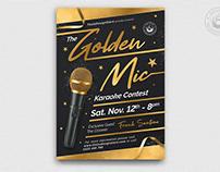 Karaoke Flyer Template V11