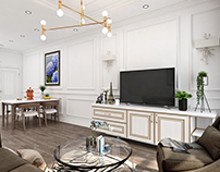 Living_Kitchen Citihome Apartment_HCMC