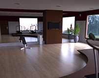 Gym in Rhinoceros 3D