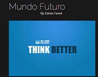 Plantilla de WordPress del Blog Mundo Futuro