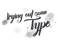 An article detailing some experiments in type.