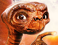 E.T. 35th Anniversary Art