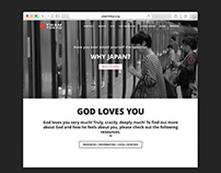 YWAM Tokyo Website