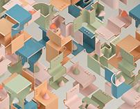 Isometric Shapes - Vol. 2