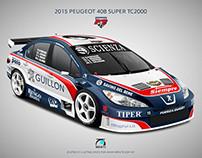 2015 Peugeot 408 STC2000 - Peugeot FE Junior Èquipe
