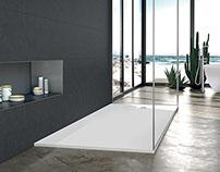 blu•stone™ shower bases