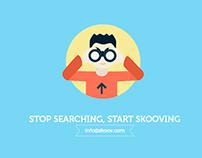 Skoov - UI/UX - A web portal