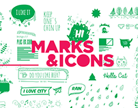 Marks & Icons
