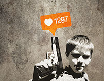 Banksy Inspired Wall Art