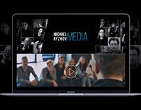 Разработка корпоративного сайта MICHAEL RYZHOV MEDIA