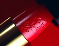Beauty(ful) Packshots - Lancôme Absolu Rouge - CGI