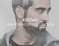 REDTAG Men's Winter Collection Website