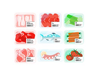 Grocery promotional animation