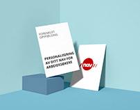 NAV - Personalisering av Ditt NAV